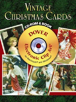 Vintage Christmas Cards [With CDROM] (Green Edition)