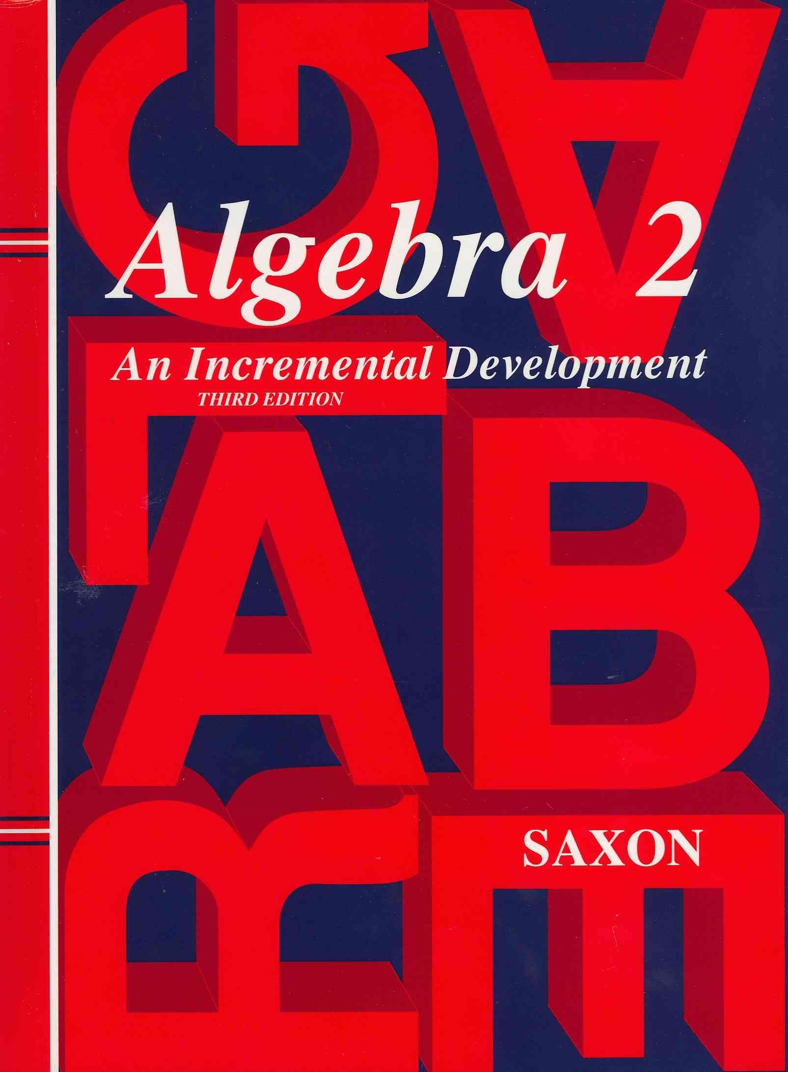 Algebra 2 By Saxon Publications